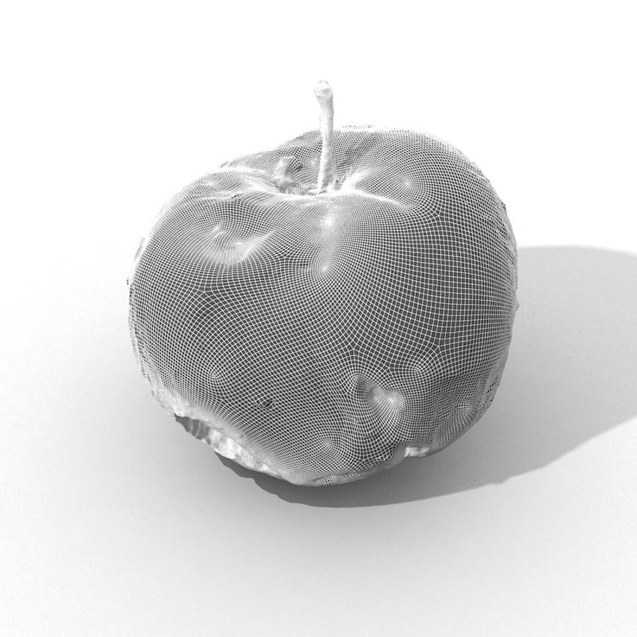 Rotte Rotte Apple 03 royalty-free 3d model - Preview no. 44