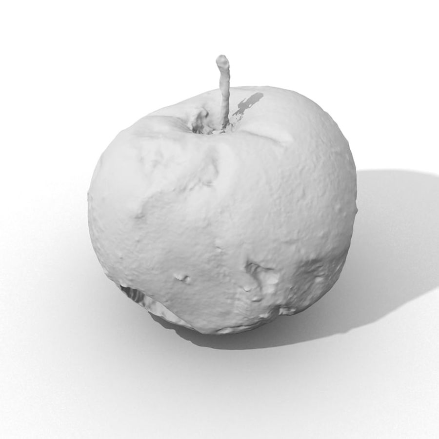 Rotte Rotte Apple 03 royalty-free 3d model - Preview no. 45