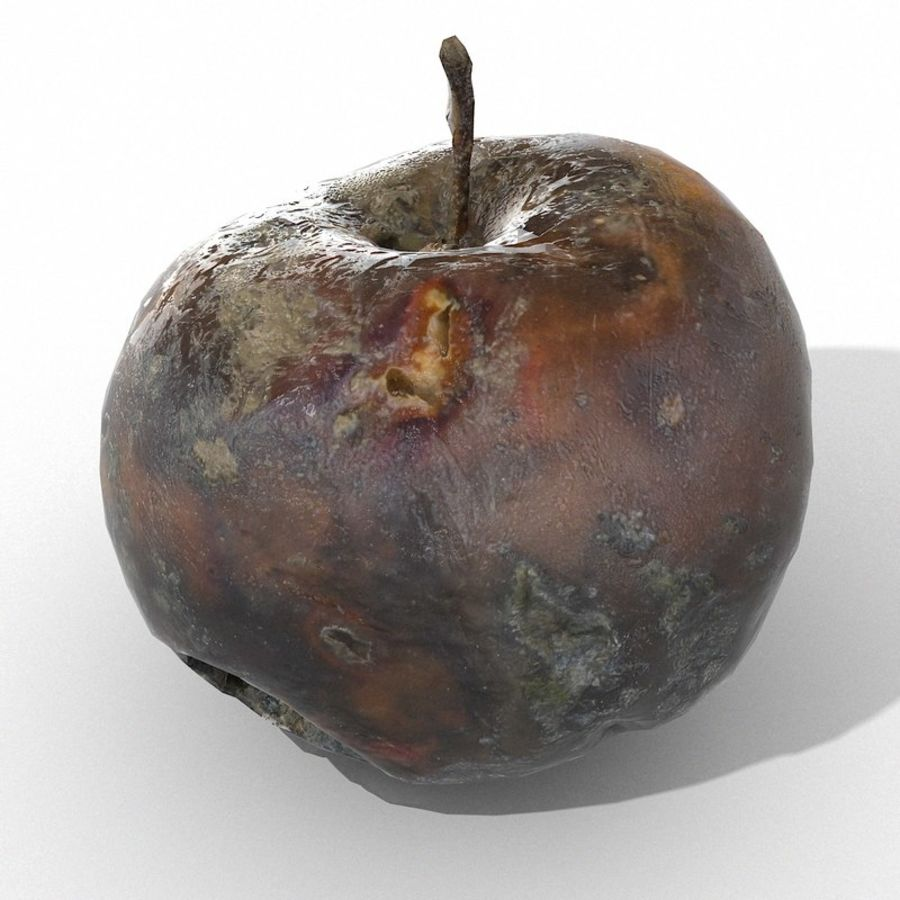Rotte Rotte Apple 03 royalty-free 3d model - Preview no. 42