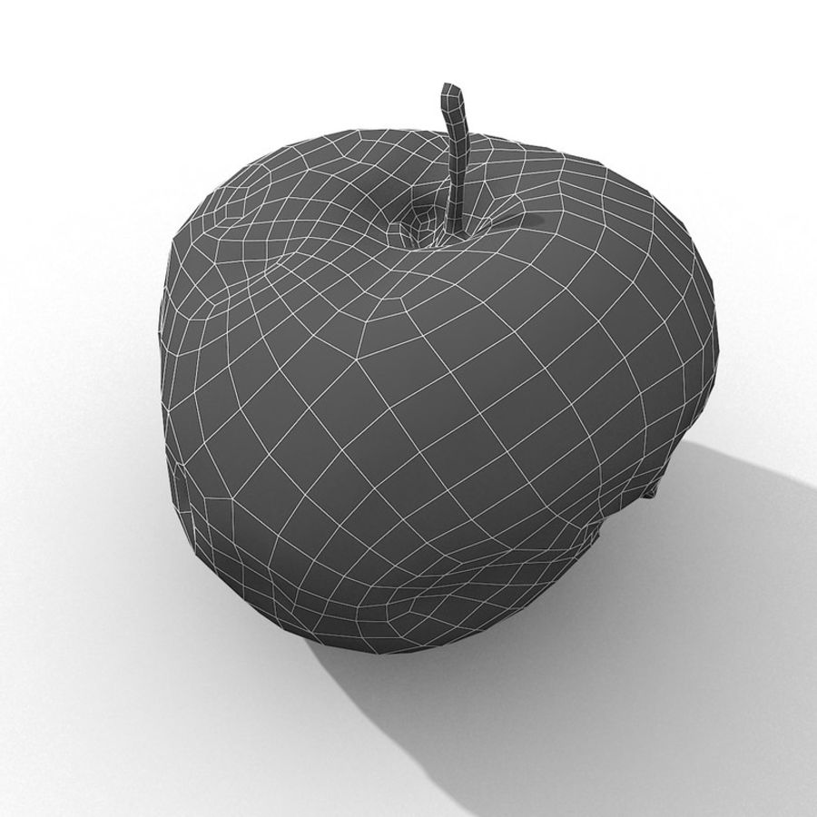 Rotte Rotte Apple 03 royalty-free 3d model - Preview no. 49