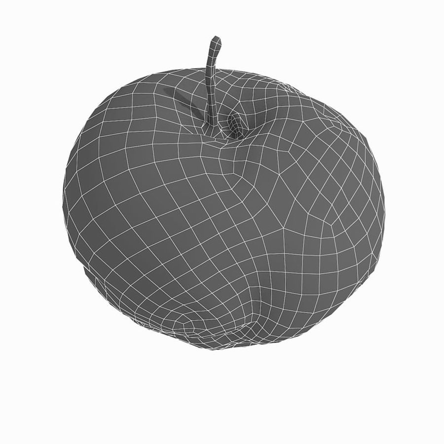 Rotte Rotte Apple 03 royalty-free 3d model - Preview no. 54