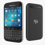 Blackberry Classic Smartphone 3d model