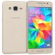 三星Galaxy Grand Prime Gold 3d model
