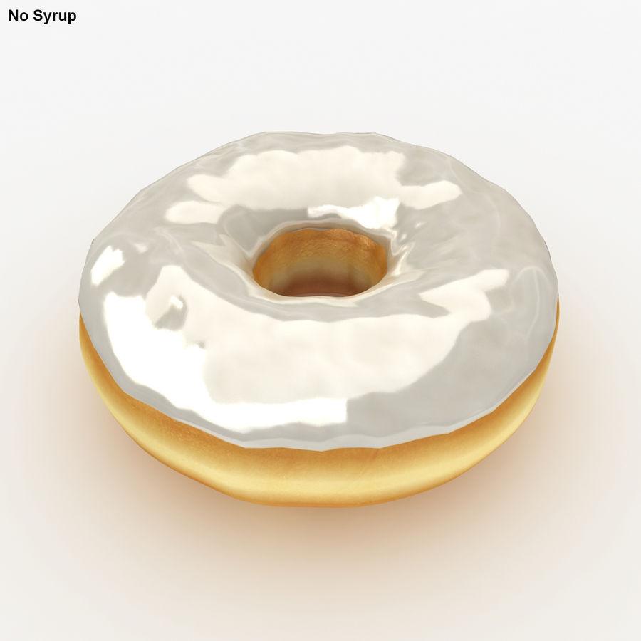 Пончик ваниль royalty-free 3d model - Preview no. 3