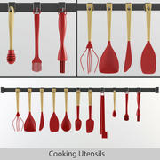 Cooking Utensils 3d model
