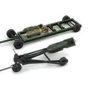 WW2 폭탄 팩 2 3d model