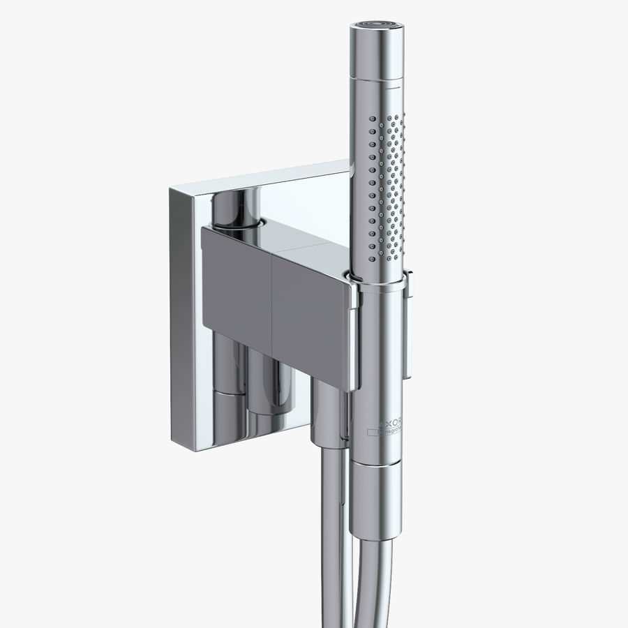 Hansgrohe Axor Starck Organic shower royalty-free 3d model - Preview no. 1