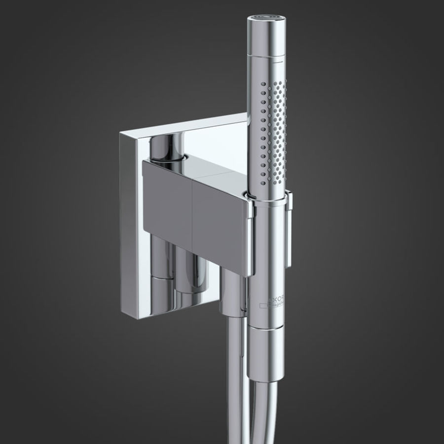Hansgrohe Axor Starck Organic shower royalty-free 3d model - Preview no. 2