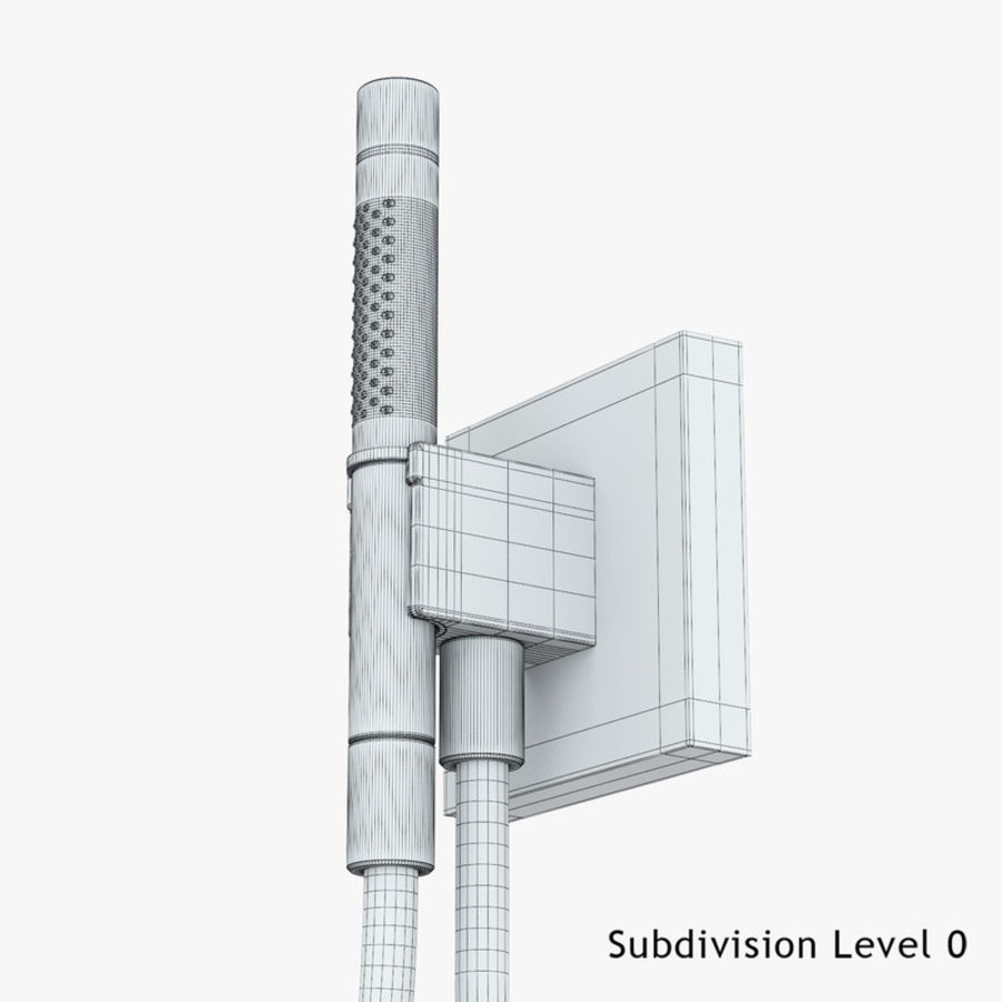 Hansgrohe Axor Starck Organic shower royalty-free 3d model - Preview no. 5