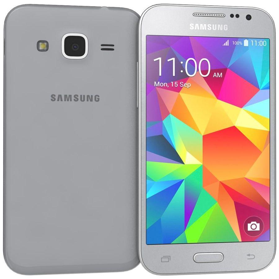 三星Galaxy Core Prime灰色 royalty-free 3d model - Preview no. 1
