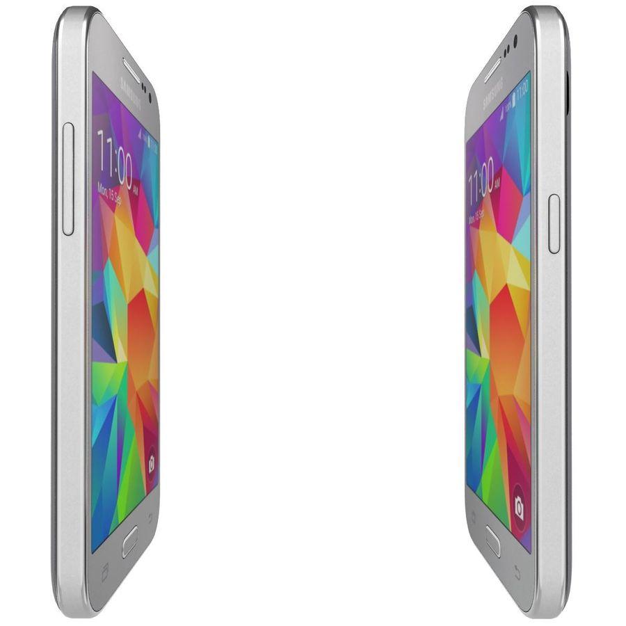 三星Galaxy Core Prime灰色 royalty-free 3d model - Preview no. 10