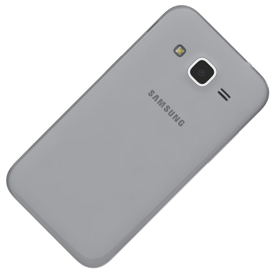 Samsung Galaxy Core Prime Grey royalty-free modelo 3d - Preview no. 19