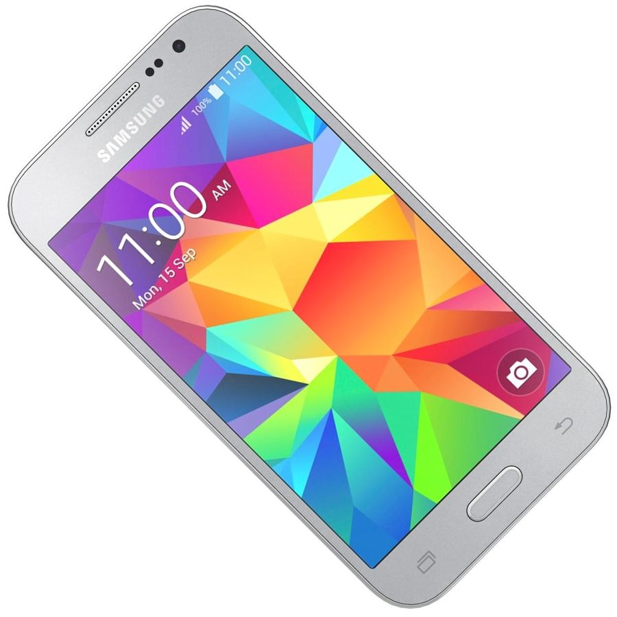 Samsung Galaxy Core Prime Grey royalty-free modelo 3d - Preview no. 18