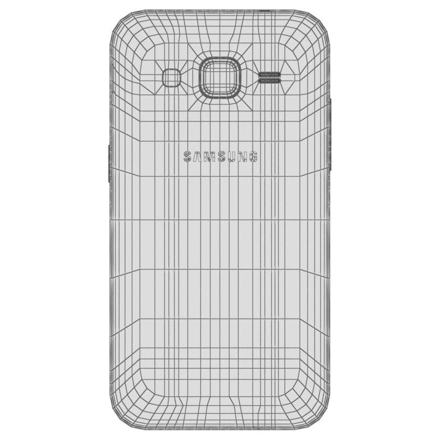三星Galaxy Core Prime灰色 royalty-free 3d model - Preview no. 28