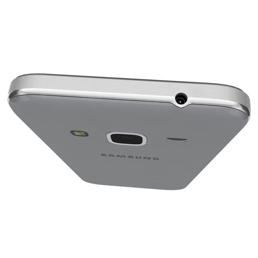 Samsung Galaxy Core Prime Grey royalty-free modelo 3d - Preview no. 12
