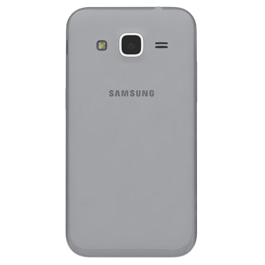三星Galaxy Core Prime灰色 royalty-free 3d model - Preview no. 7