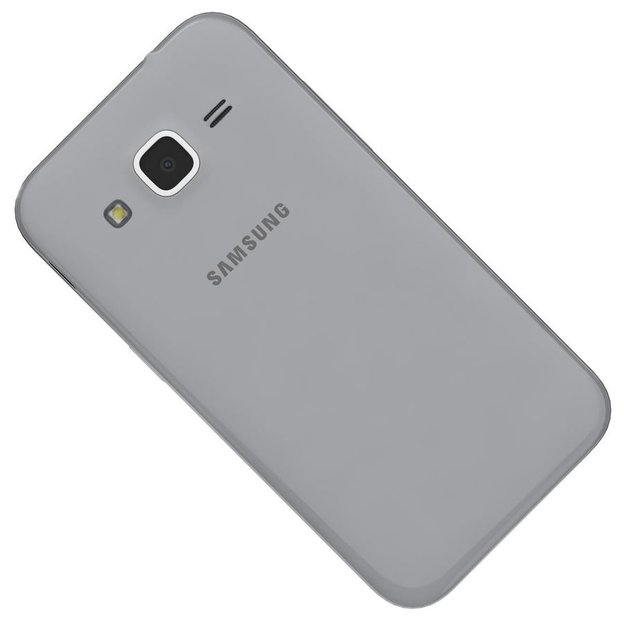 Samsung Galaxy Core Prime Grey royalty-free modelo 3d - Preview no. 22