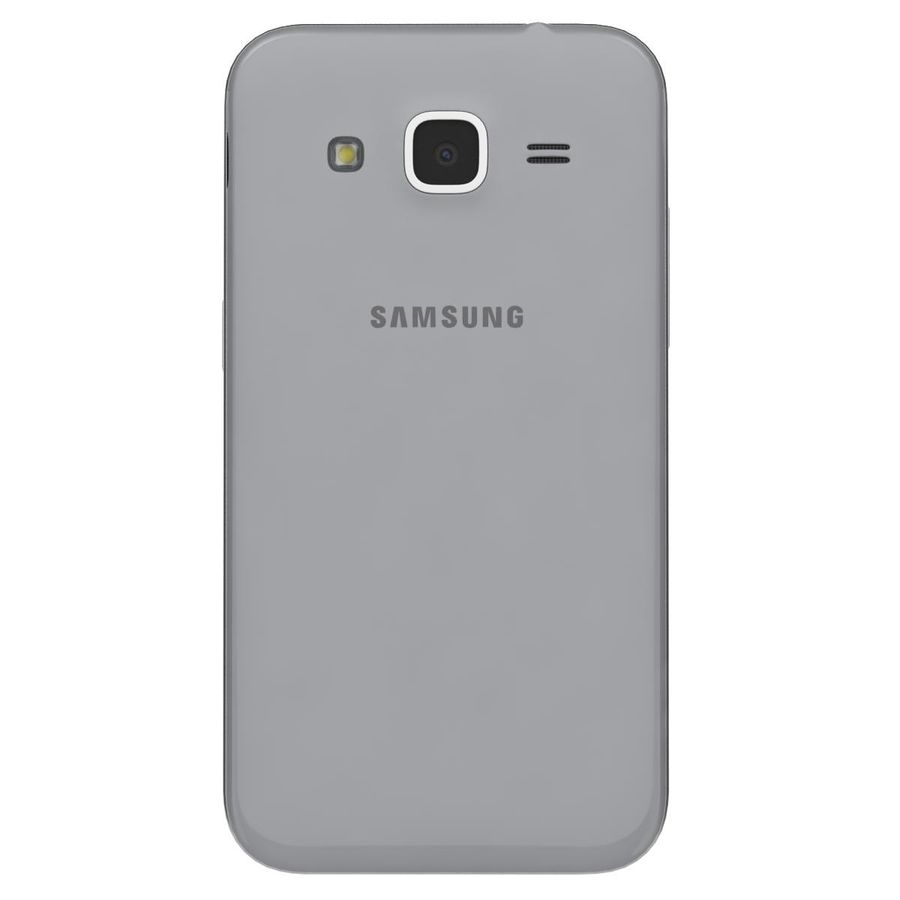 Samsung Galaxy Core Prime Grey royalty-free modelo 3d - Preview no. 7