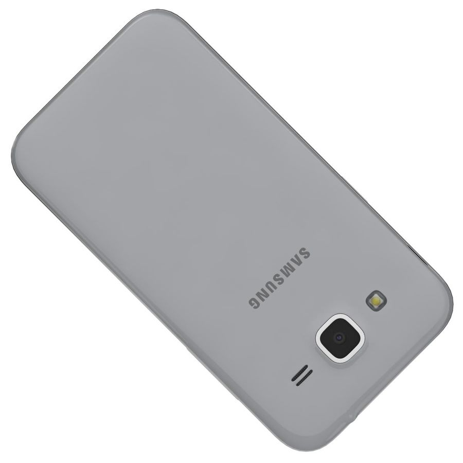 Samsung Galaxy Core Prime Grey royalty-free modelo 3d - Preview no. 20