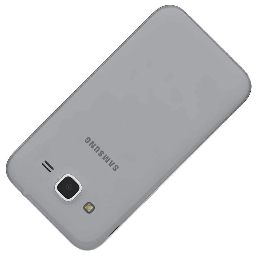 Samsung Galaxy Core Prime Grey royalty-free modelo 3d - Preview no. 21