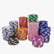 ポーカーチップ 3d model