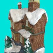 クリスマス駅 3d model
