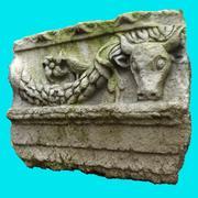 Roman Bas Relief 1 3d model