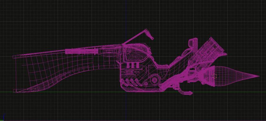 Jet Bike royalty-free 3d model - Preview no. 4