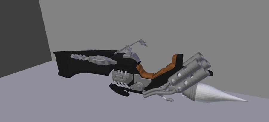 Jet Bike royalty-free 3d model - Preview no. 1