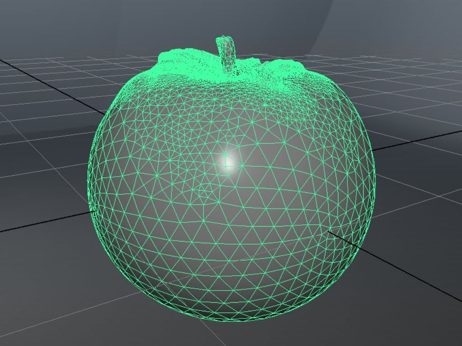 Tomato royalty-free 3d model - Preview no. 5