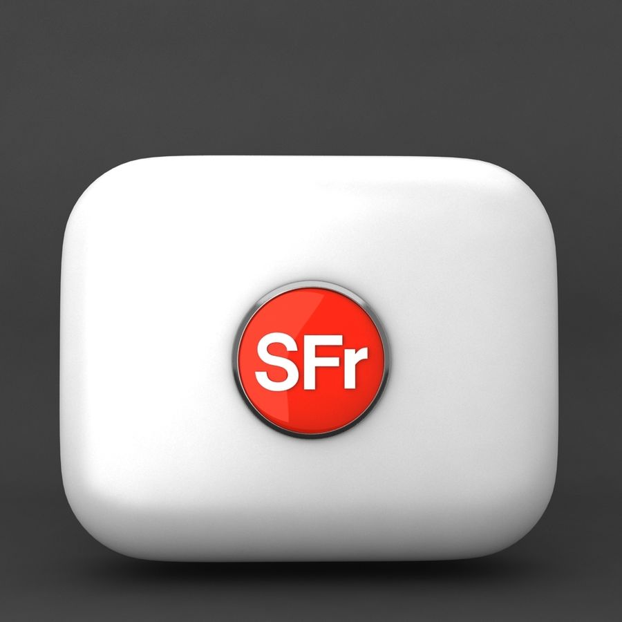 Switzerland Franc currency icon royalty-free 3d model - Preview no. 1