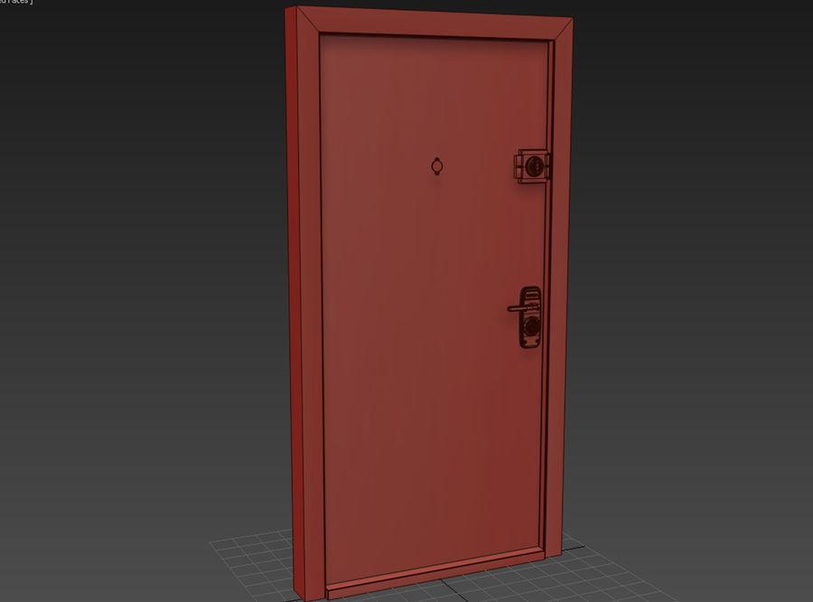 Dom Mieszkanie Drzwi royalty-free 3d model - Preview no. 2