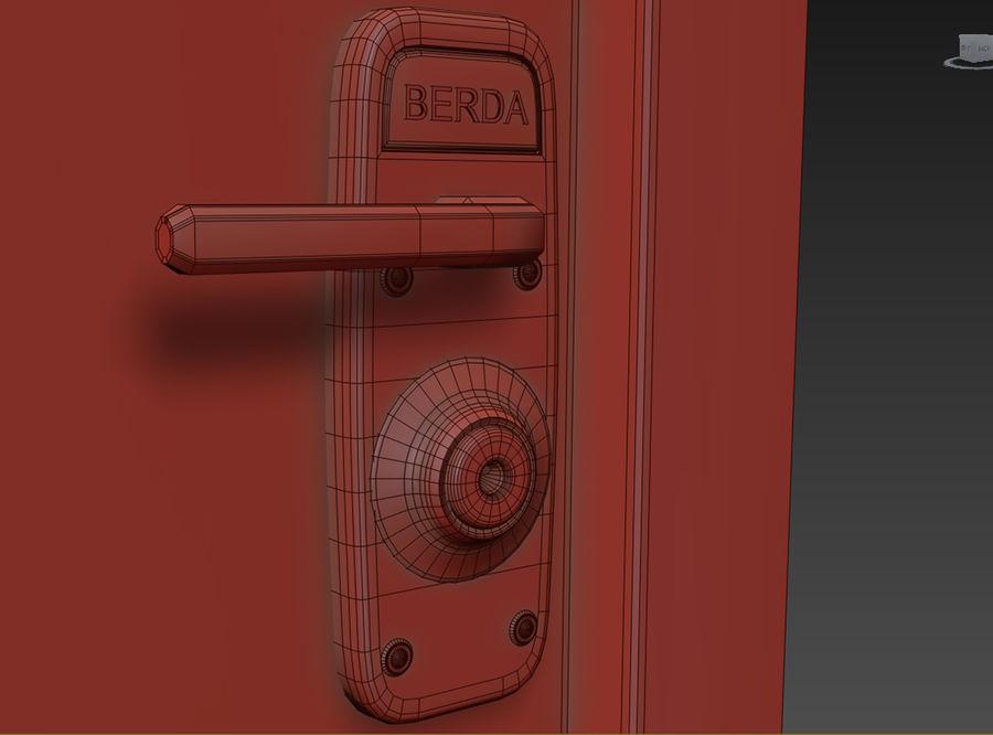 Dom Mieszkanie Drzwi royalty-free 3d model - Preview no. 4