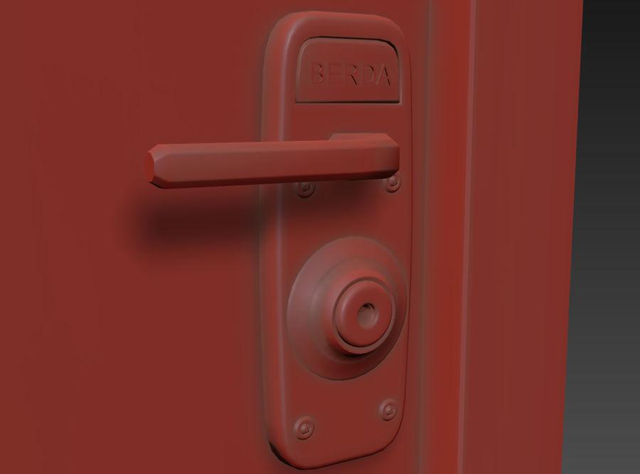 Dom Mieszkanie Drzwi royalty-free 3d model - Preview no. 3