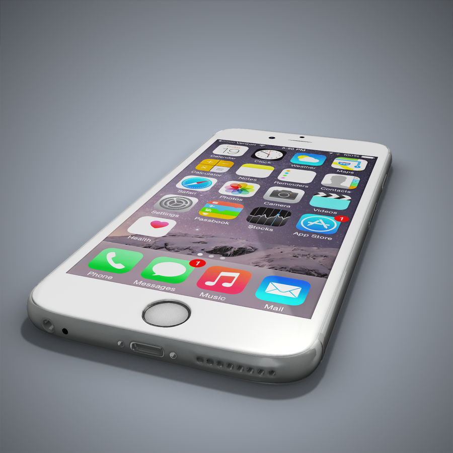 IPhone 6 royalty-free 3d model - Preview no. 12