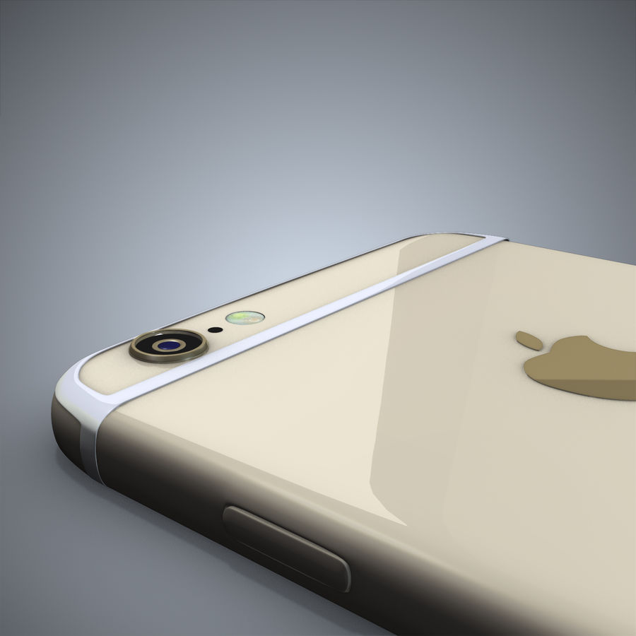 IPhone 6 royalty-free 3d model - Preview no. 4