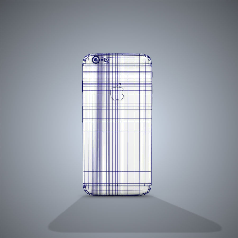 IPhone 6 royalty-free 3d model - Preview no. 14