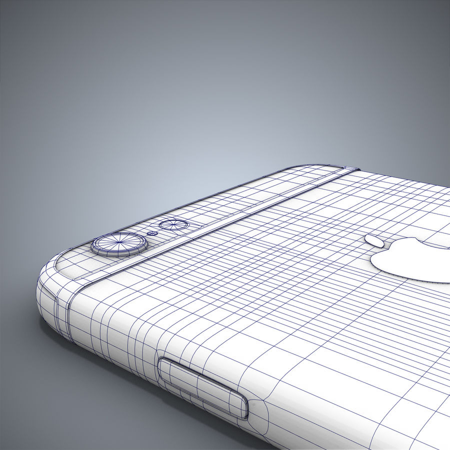 IPhone 6 royalty-free 3d model - Preview no. 17