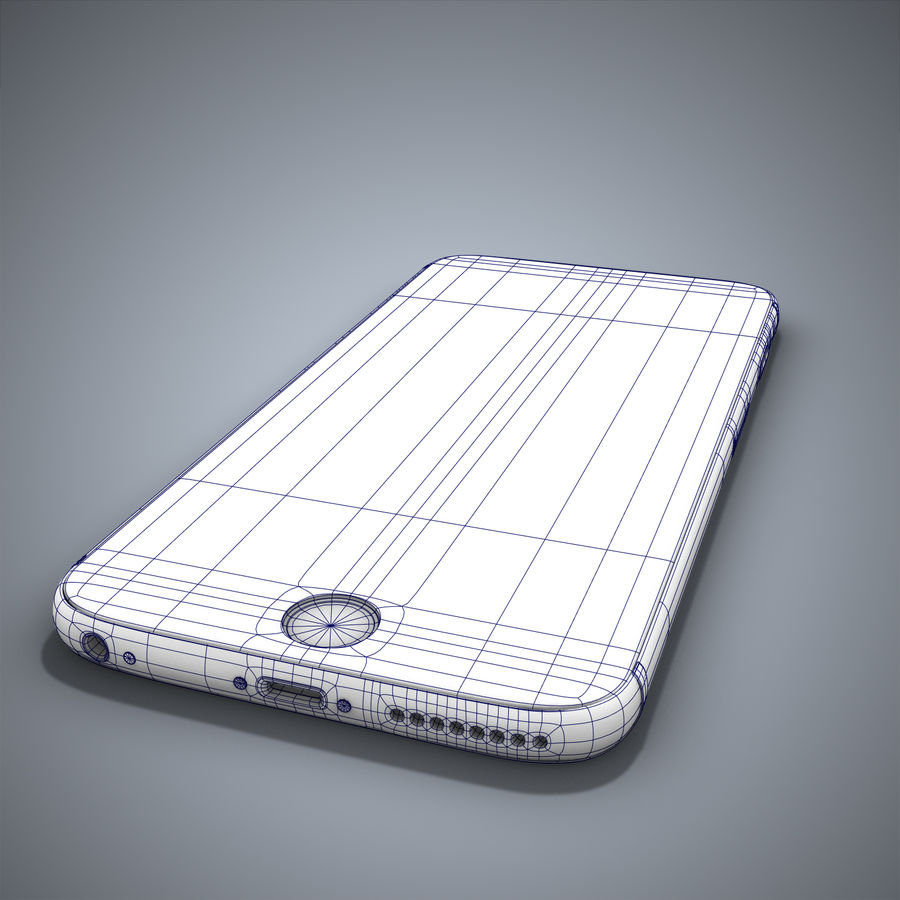 IPhone 6 royalty-free 3d model - Preview no. 20