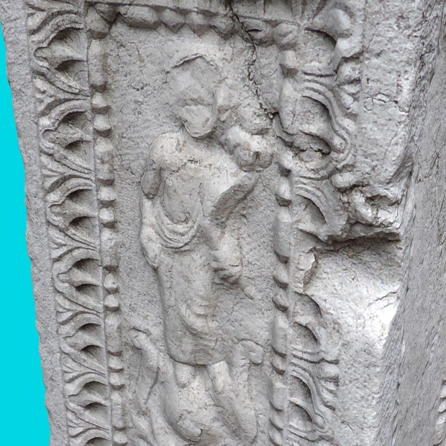 Roman Column 1 royalty-free 3d model - Preview no. 4