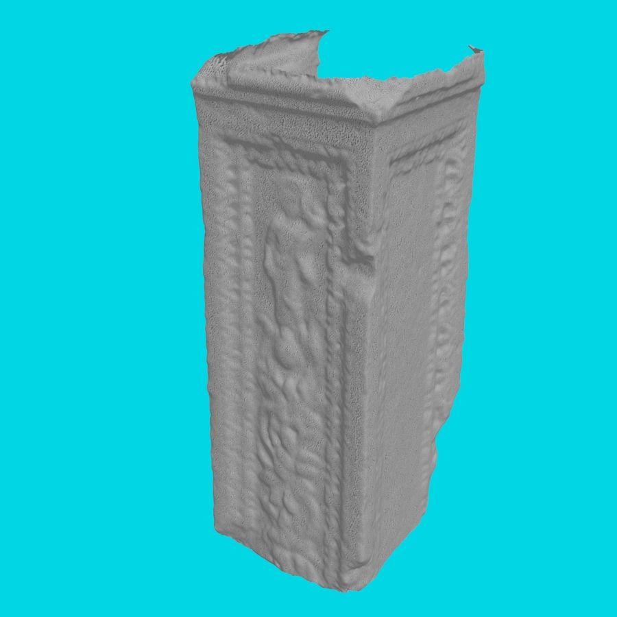 Roman Column 1 royalty-free 3d model - Preview no. 6