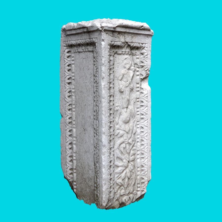 Roman Column 1 royalty-free 3d model - Preview no. 3