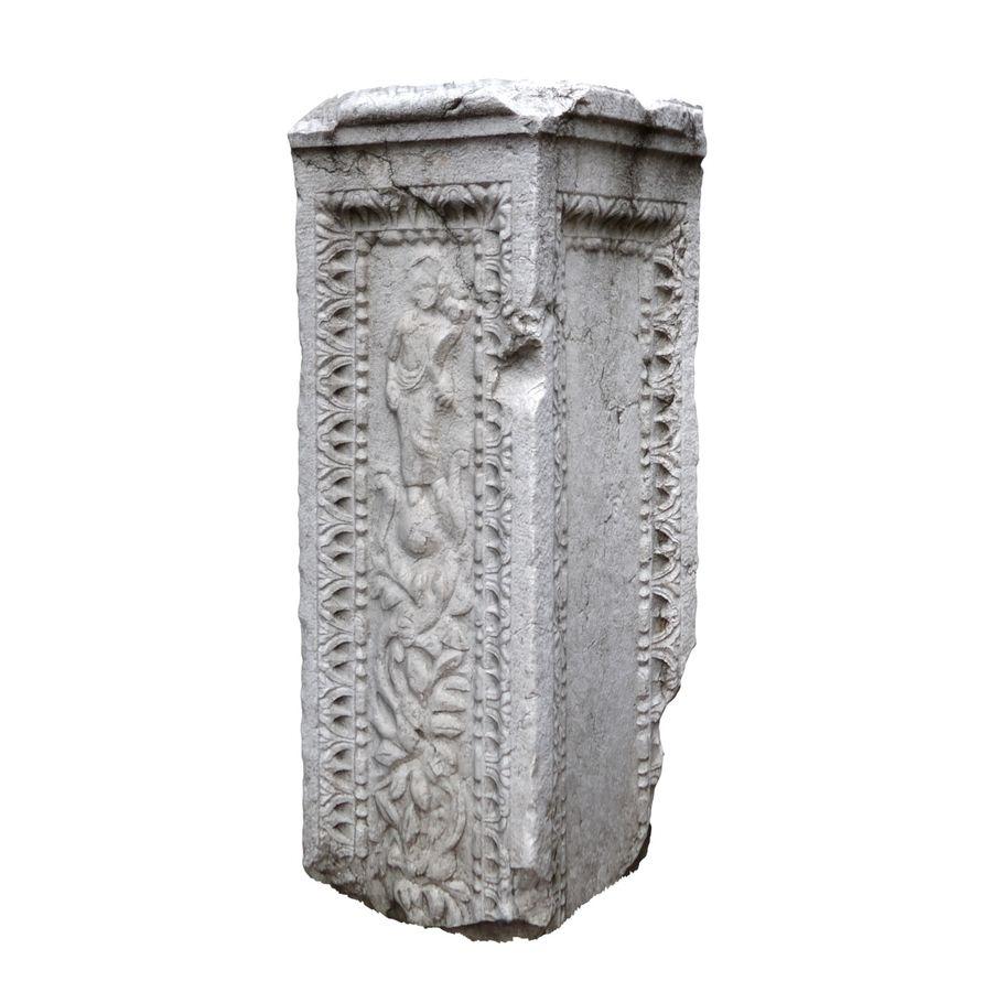 Roman Column 1 royalty-free 3d model - Preview no. 2