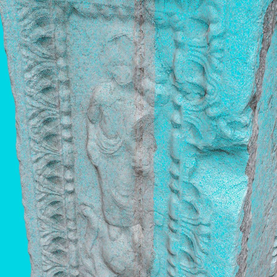 Roman Column 1 royalty-free 3d model - Preview no. 7