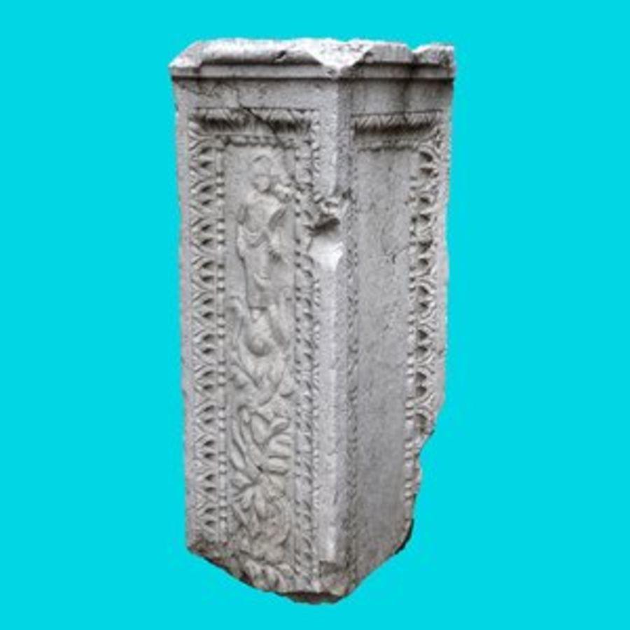 Roman Column 1 royalty-free 3d model - Preview no. 1