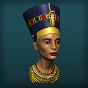 Królowa Nefertiti 3d model