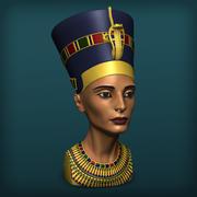 Королева нефертити 3d model