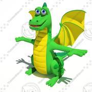 甘いドラゴン 3d model