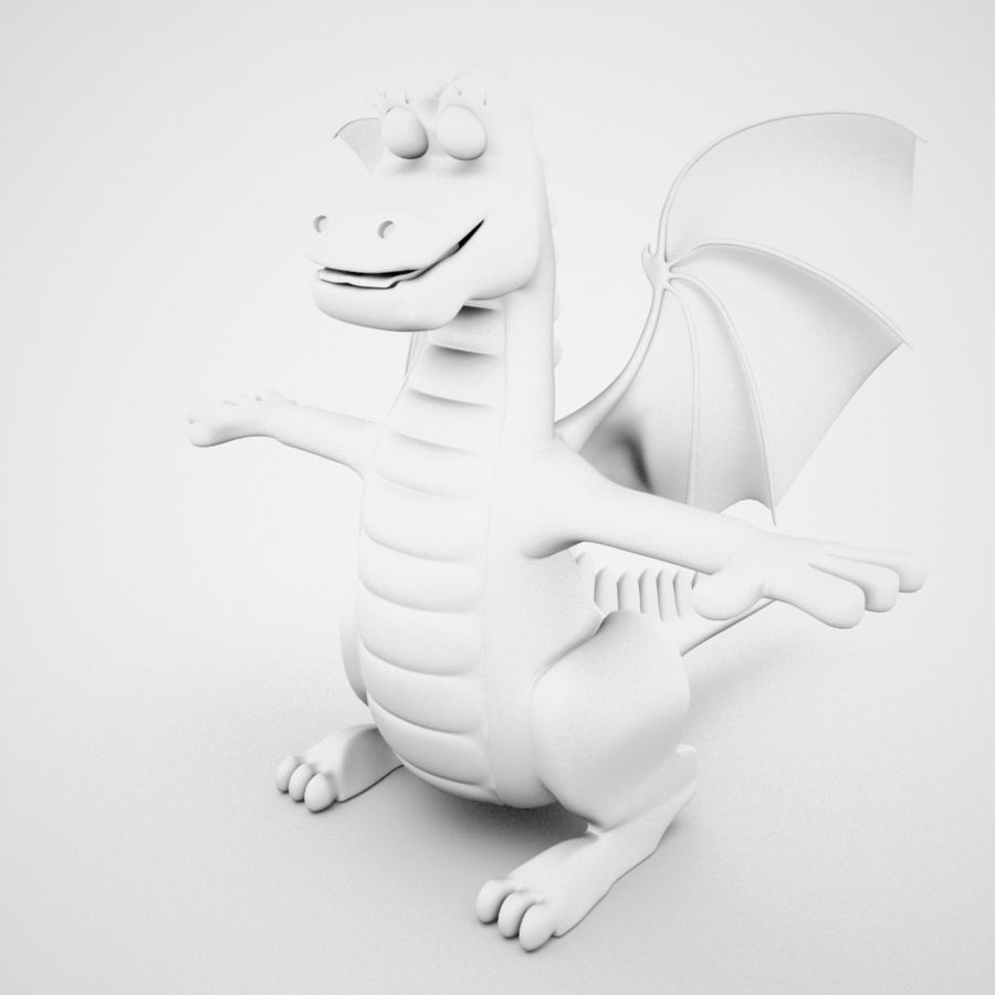 Dolce Drago royalty-free 3d model - Preview no. 14