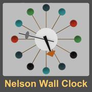 乔治·纳尔逊挂钟 3d model